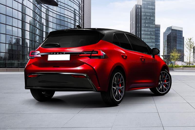 Tesla Model 2 Rumored Cheaper Hatchback Model Rendering Info Elon Musk