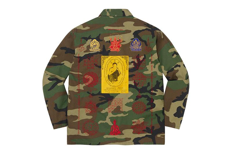 Thai National Office of Buddhism Supreme Legal Action Blessings Ripstop Shirt Info