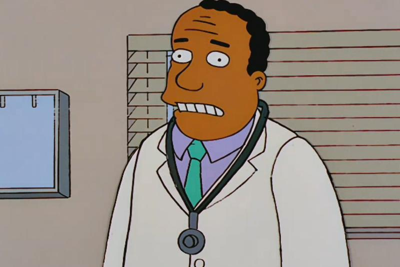 The Simpsons Switches Voice Actors Dr. Hibbert Recasting Black characters Info