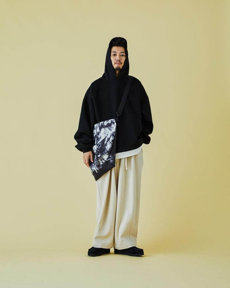 TIGHTBOOTH SS2021 Collection Lookbook spring/summer oversized garments t-shirts button-up sweatpants black purple red