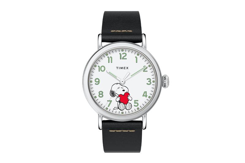 Timex Peanuts 70th Anniversary Snoopy Valentines Day Watches Timex Standard x Peanuts Valentine's Day Timex Marlin Automatic x Peanuts Snoopy Beagle Scout Timepieces