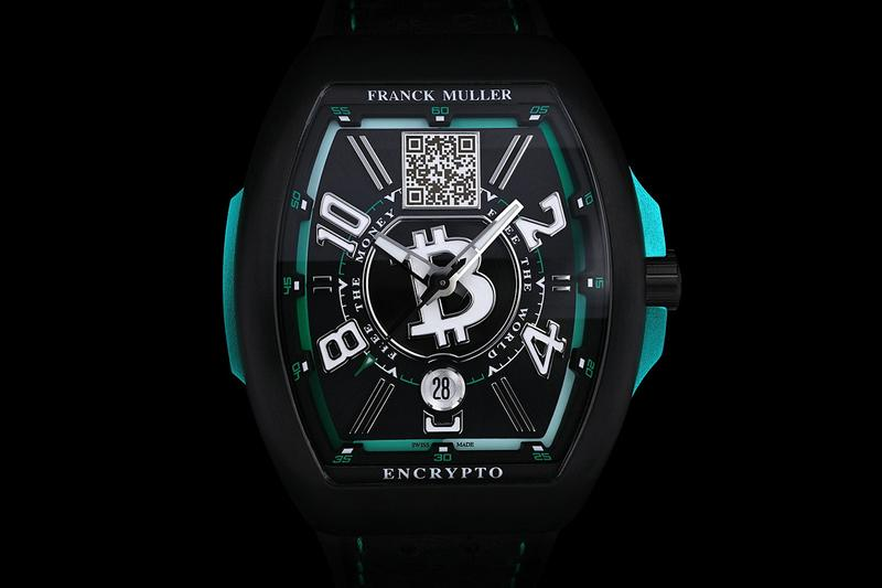Bitcoin.com Only Takes Cryptocurrency For New Franck Muller Bitcoin Cold Storage Watch
