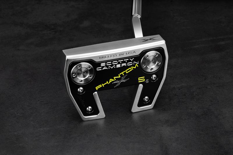 Titleist Launches New Scotty Cameron Phantom X Putters  Stainless Steel Compact Wingback Mallets