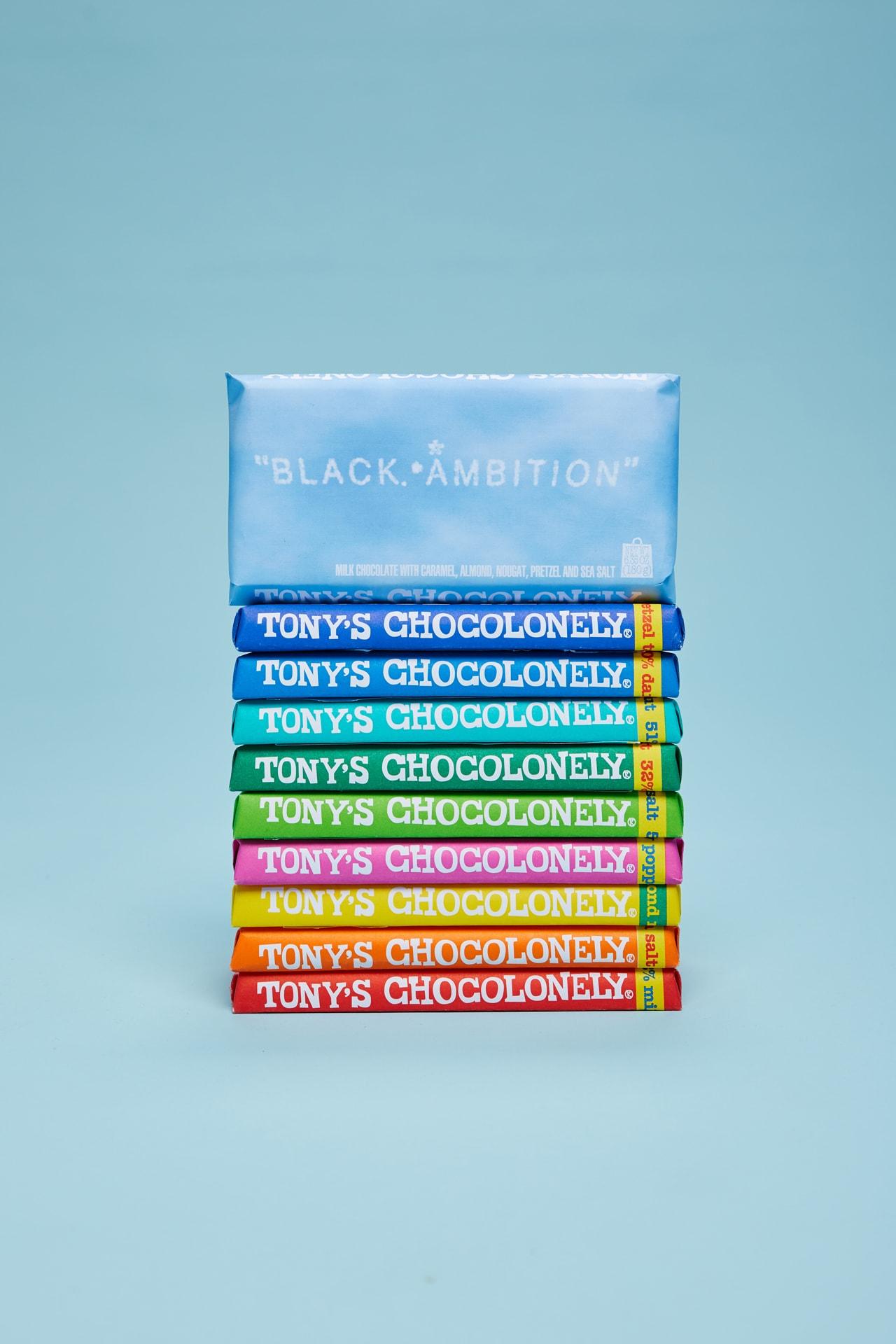 Tony's Chocolonely Pharrell Black Ambition program non-profit initiative