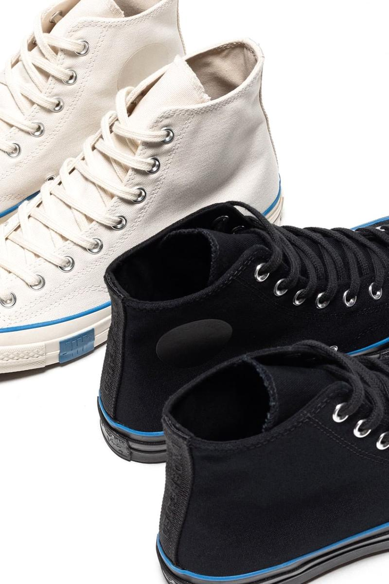 undefeated converse chuck 70 hi fundamentals parchment black blue release date info stores list buying guide price