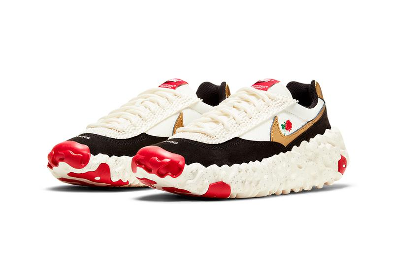 undercover nike overbreak sail metallic gold red black DD1789 100 release info store list buying guide photos price jun takashi