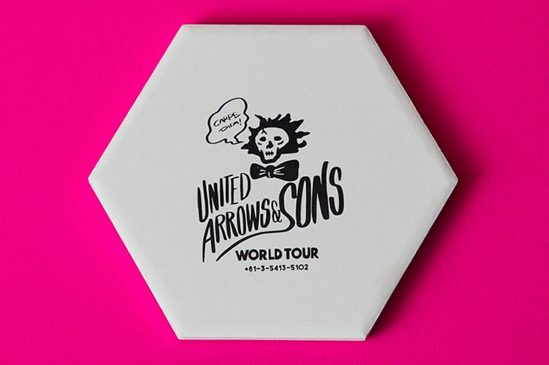 UNITED ARROWS SONS Home Goods Beer Glass Coasters poggy beauty and youth accessories