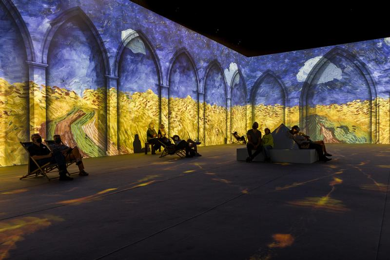 vincent van gogh the immersive experience new york city summer 2021