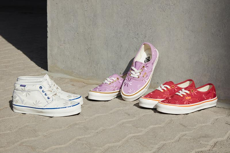 vault by vans og pack collection era chukka floral print embroidery red orange purple brown marshmallow blue official release date info photos price store list buying guide