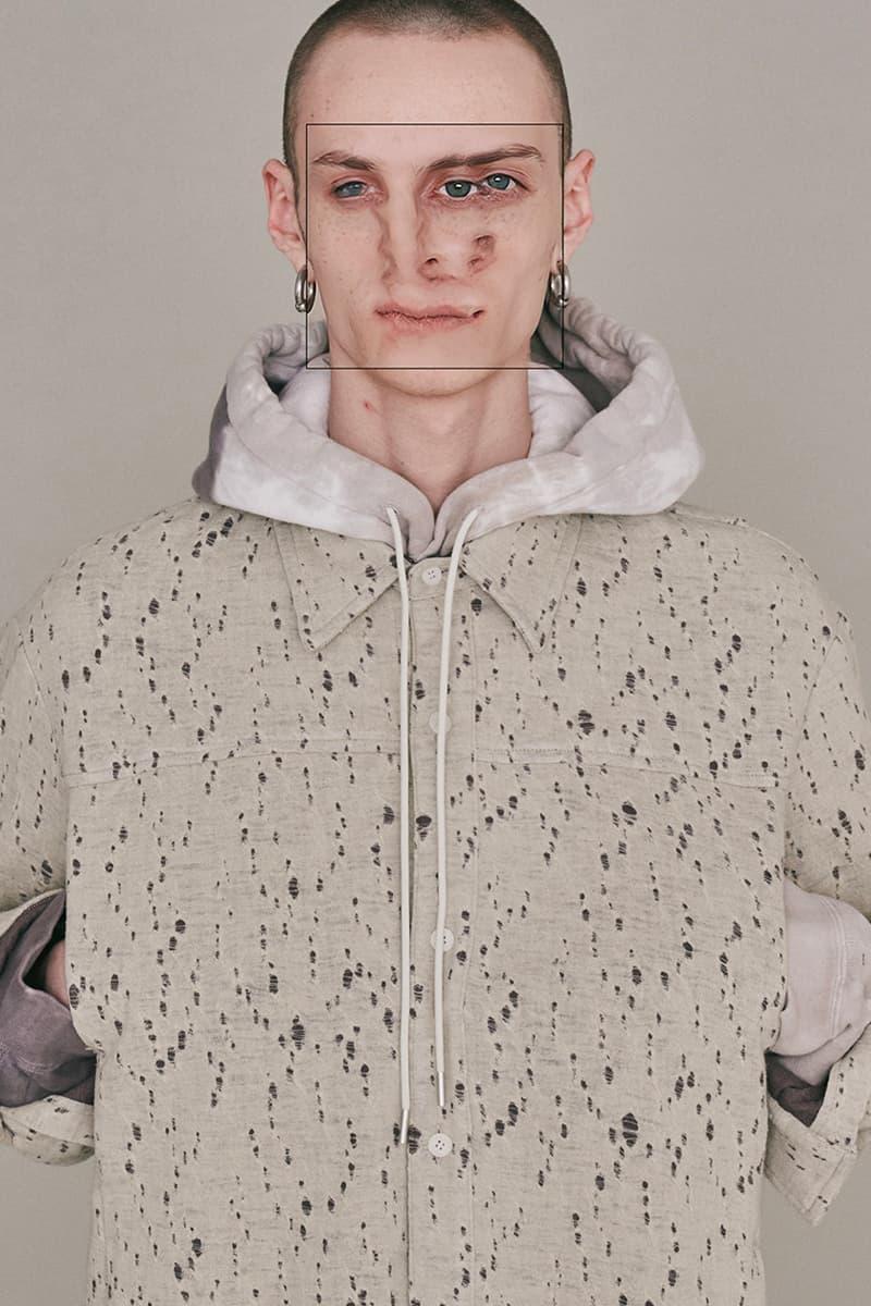 vein fall winter 2021 lookbook menswear streetwear fw21 jackets shirts sweaters shirts tees pants hoodies trousers vests info japan collection
