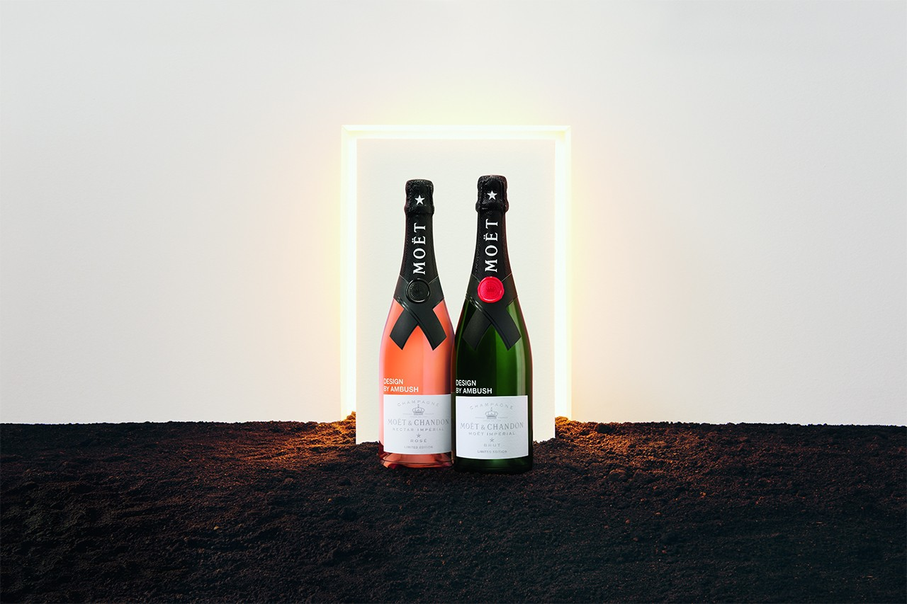 Moët & Chandon Yoon Ahn AMBUSH champagne lvmh beats dior men collaborations