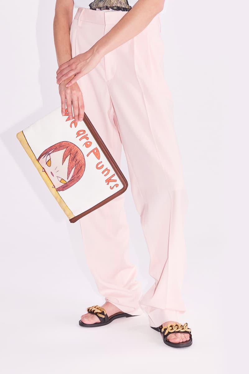 yoshitomo nara stella mccartney spring summer 2021 capsule collection apparel fashion style