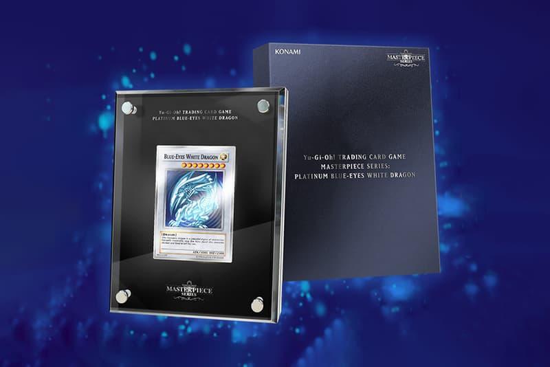 'Yu-Gi-Oh!' TCG Releases $1,000 USD Platinum Blue-Eyes White Dragon Masterpiece Card seto kaiba tcg gaming trading cards