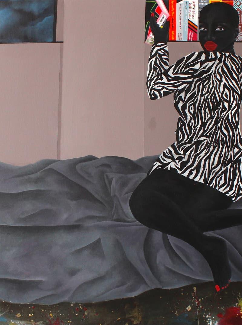 Zandile Tshabalala enter paradise ada contemporary art gallery exhibition artworks