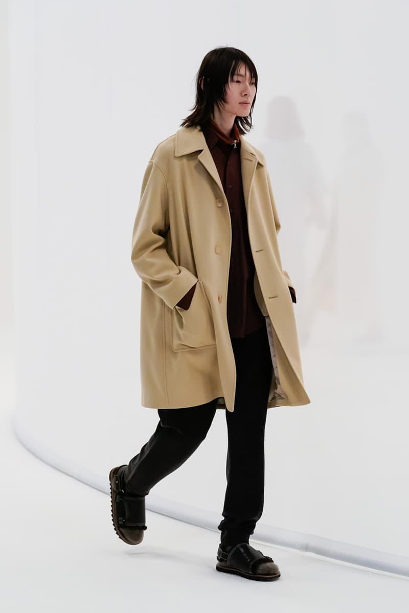 AURALEE Fall/Winter 2021 Collection Lookbook fw21 japan menswear womenswear ryota iwai buy release date info web store new balance