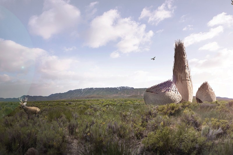 Futuristic Designs for Burning Man's Permanent Event Space Released