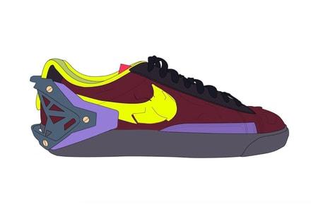 News of an ACRONYM x Nike Blazer Low Surfaces
