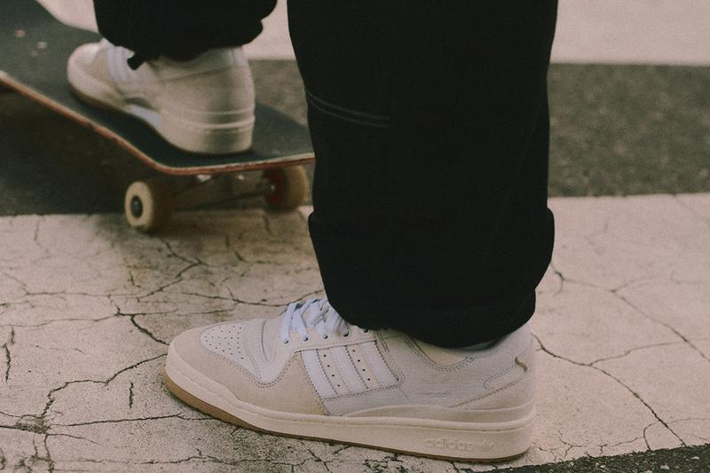 adidas Skateboarding Forum 84 ADV Hero Colorways Heitor da Silva Skate Basketball Classic Model Sneaker Release Information Drop Date Closer First Look Jacques Chassaing Chalk White Black Gum Sole Unit Outsole