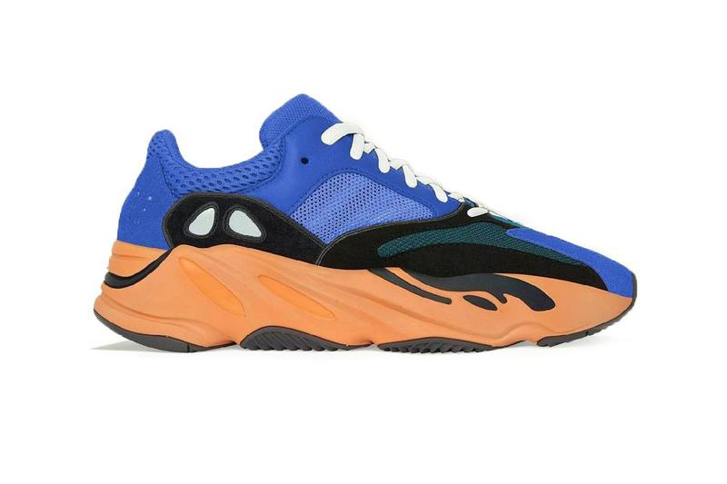 kanye west adidas yeezy boost 700 bright blue black green orange wave runner april 2021 official release date info photos price store list buying guide