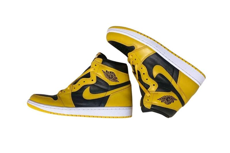 air michael jordan brand 1 pollen black yellow white 555088 701 official release date info photos price store list buying guide