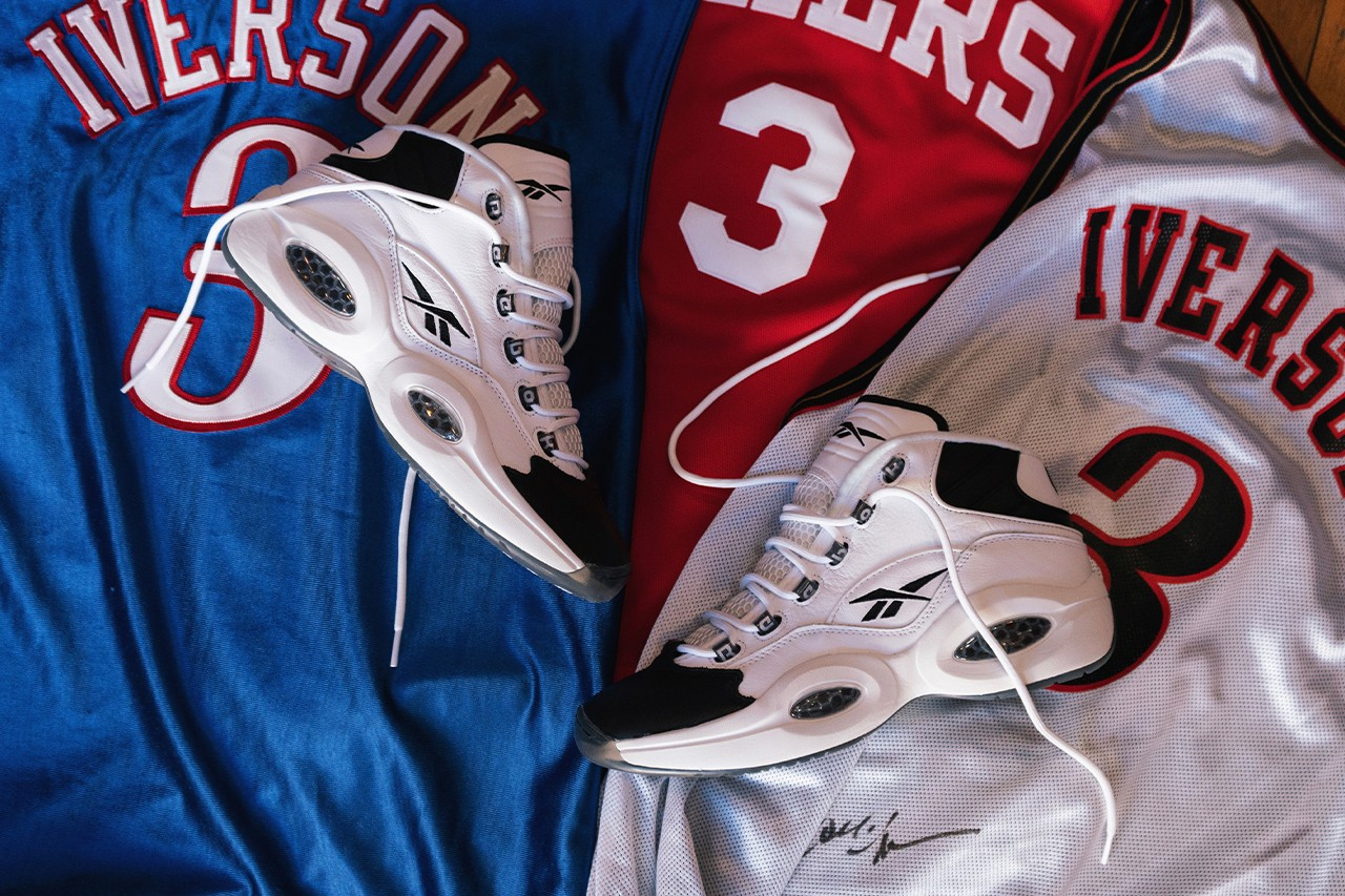allen iverson reebok question mid why not us black footwear white GX5260 2001 nba all star game mvp interview conversation official release date info photos price store list buying guide