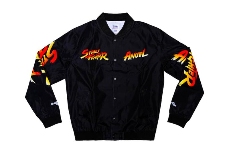 Annuel AA Capcom 'Street Fighter' Capsule Collaboration Collab Colelction Ryu Akuma Ken Guile