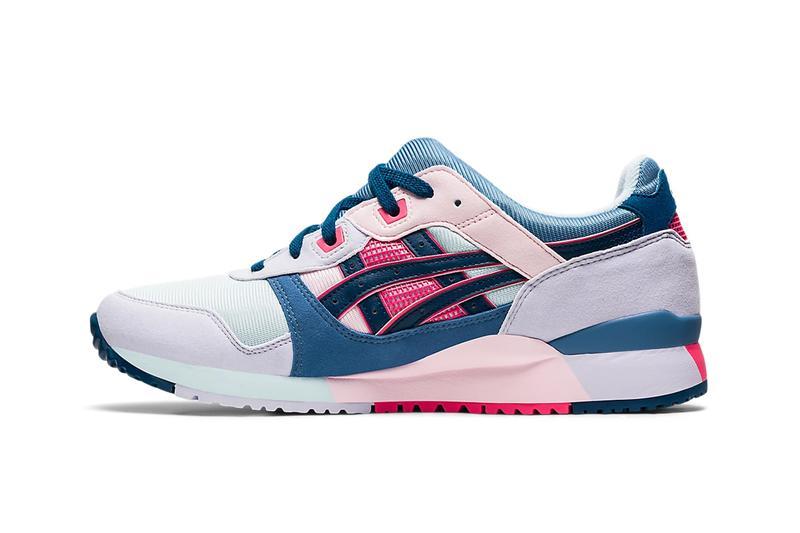 asics gel lyte iii back streets of japan pack ivory black aqua angel mako blue release info store list buying guide photos price store list