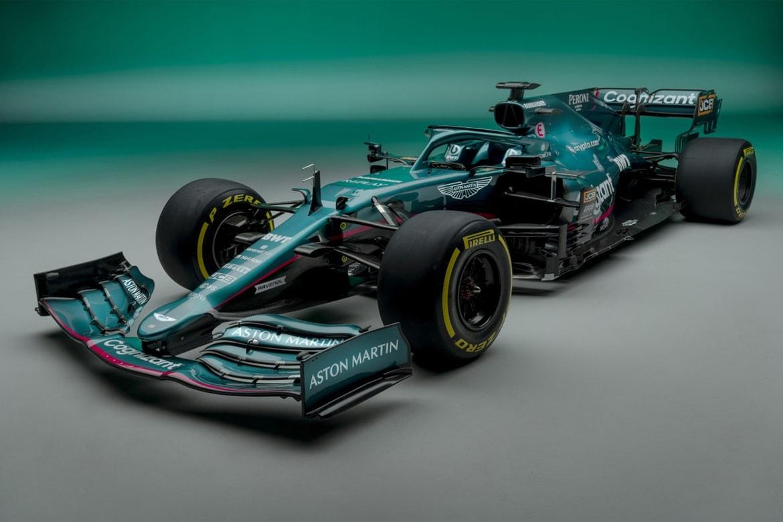 Aston Martin 2021 Formula 1 Racing Car Unveiling Hypebeast