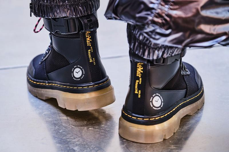 atmos dr martens doc 1461 shoe combs boot black purple pink yellow official release date info photos price store list buying guide