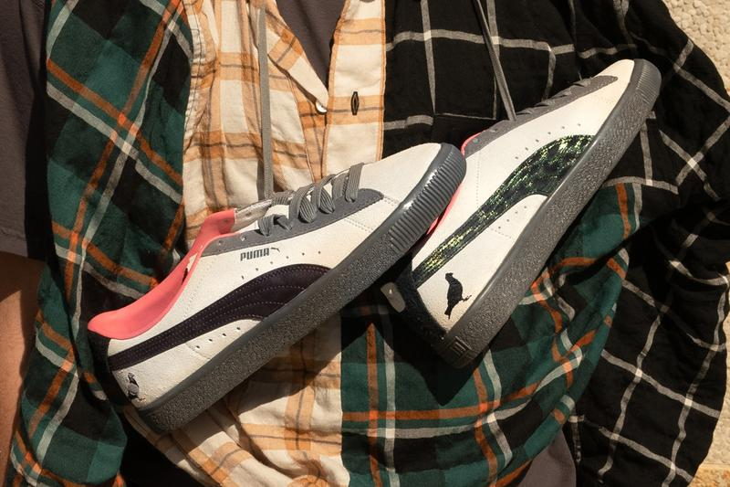 atmos jeff staple puma suede crow and pigeon tan gray red black official release date info photos price store list buying guide