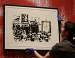 Original Banksy Artwork Burned, Digitized and Put up for Sale as NFT