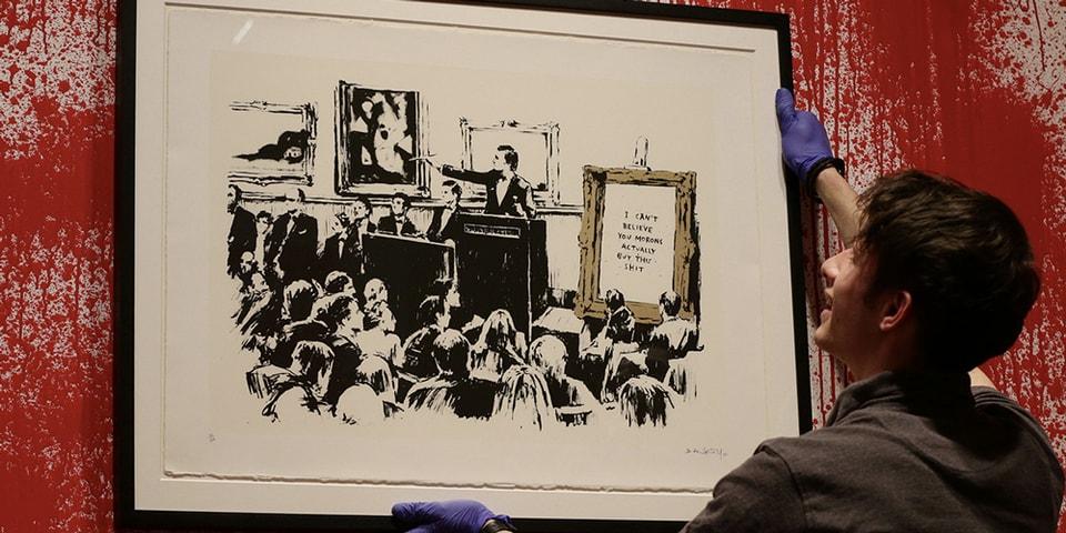 Original Banksy Artwork Burned, Digitized and Put up for Sale as NFT