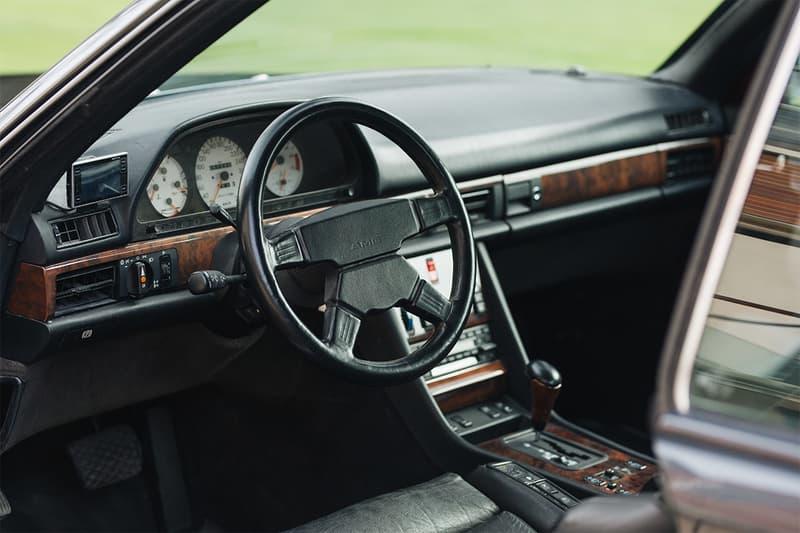 bonhams auctions automotive cars 1989 mercedes benz 560 sec amg wide body rare 6 0 vintage cars