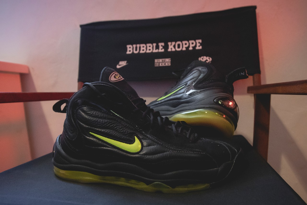 sole mates bubblekoppe instagram page nike air total max uptempo reggie miller interview conversation official release date info photos price store list buying guide