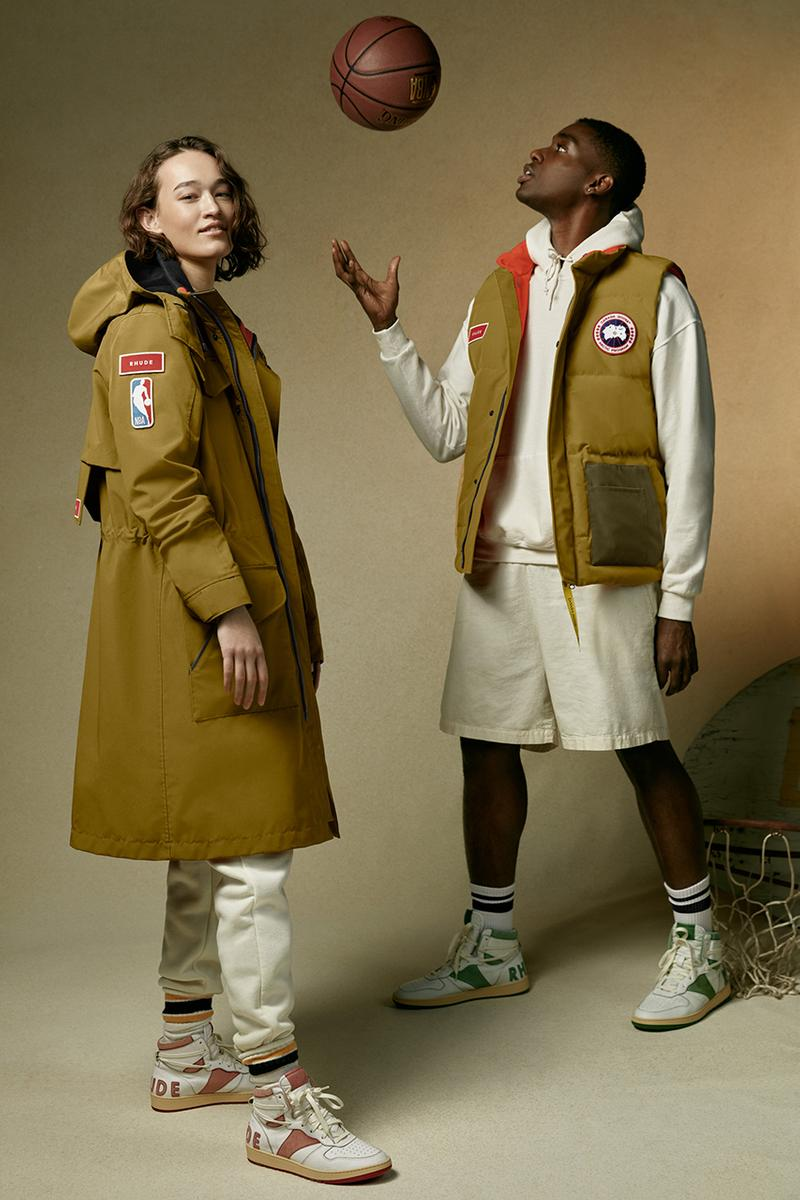 canada goose rhude nba outerwear collection hooded jacket puffer vest release info date price store list buying guide