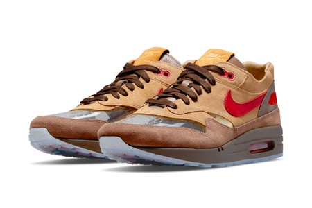 """Official Images of the CLOT x Nike Air Max 1 """"K.O.D. CHA"""""""