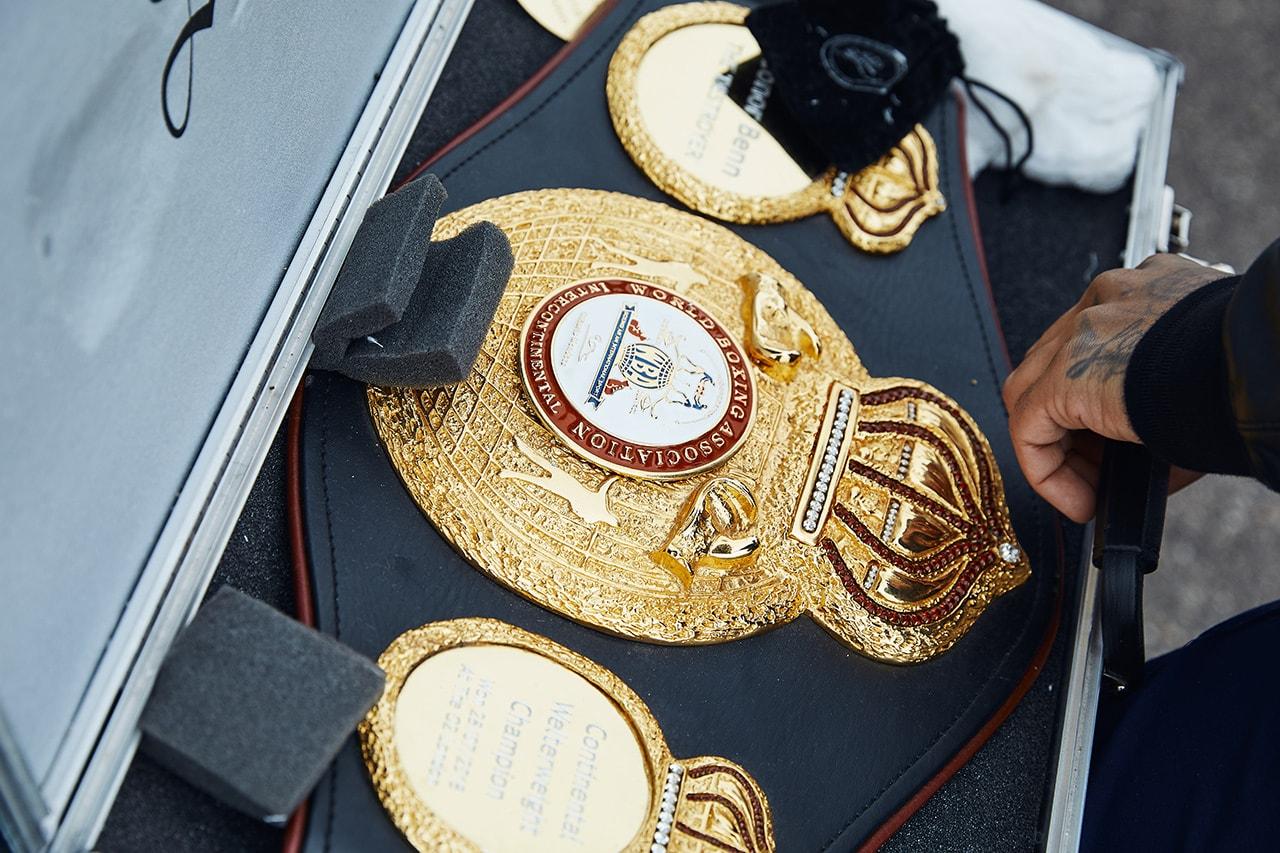 Conor Benn boxing Nigel Benn Samuel Vargas Sebastian Formella news world champion WBO belt