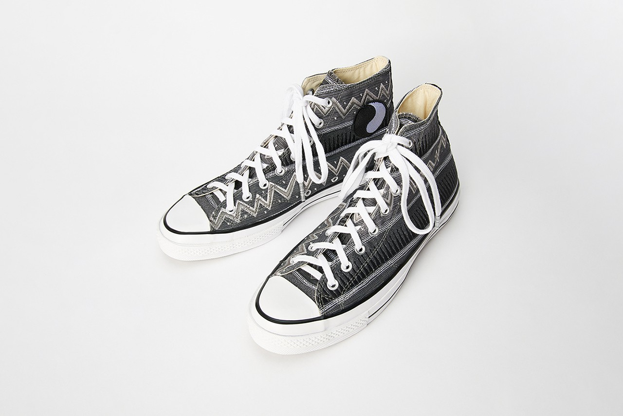 Converse Collaborations Paria Farzaneh Awake NY Angelo Baque Eastwood Danso Feng Chen Wang Stussy Our Legacy WORK SHOP Unreleased Custom London Designers Fashion Week Runway Collab Pairs Limited Edition Reworked Chuck Taylor All Star One Star '70s
