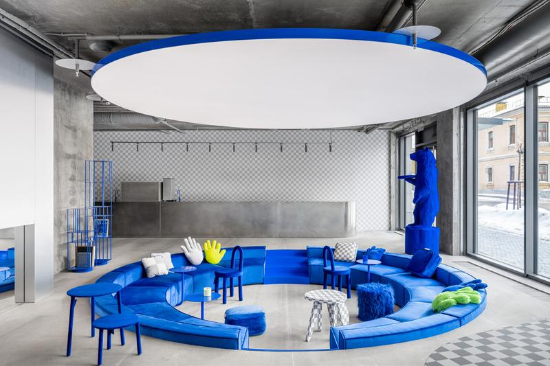 Crosby Studios new moscow flagship opening interior design layout