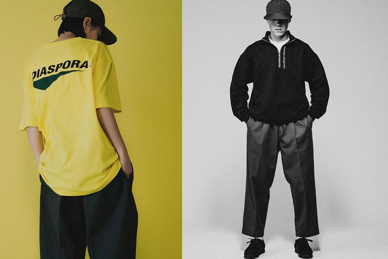 Diaspora Skateboards Spring/Summer 2021 Lookbook ss21 collection japan