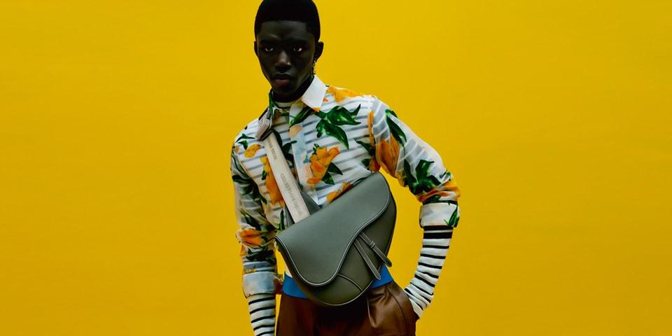 Dior Men Adds a Maxi Saddle Bag to the Classic Lineup