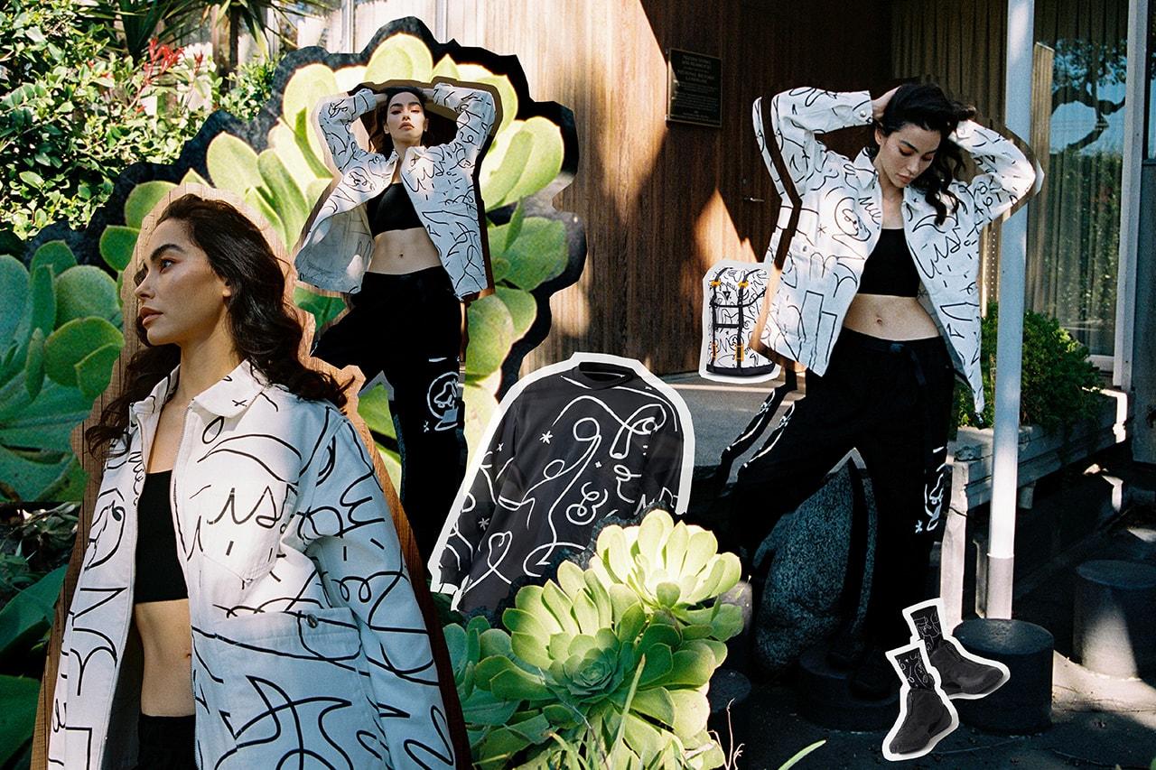 Dwyane Wade Li-Ning french street artist DFT limited capsule collection fashion sport basketball shorts garments pop up chinese nba designer instagram