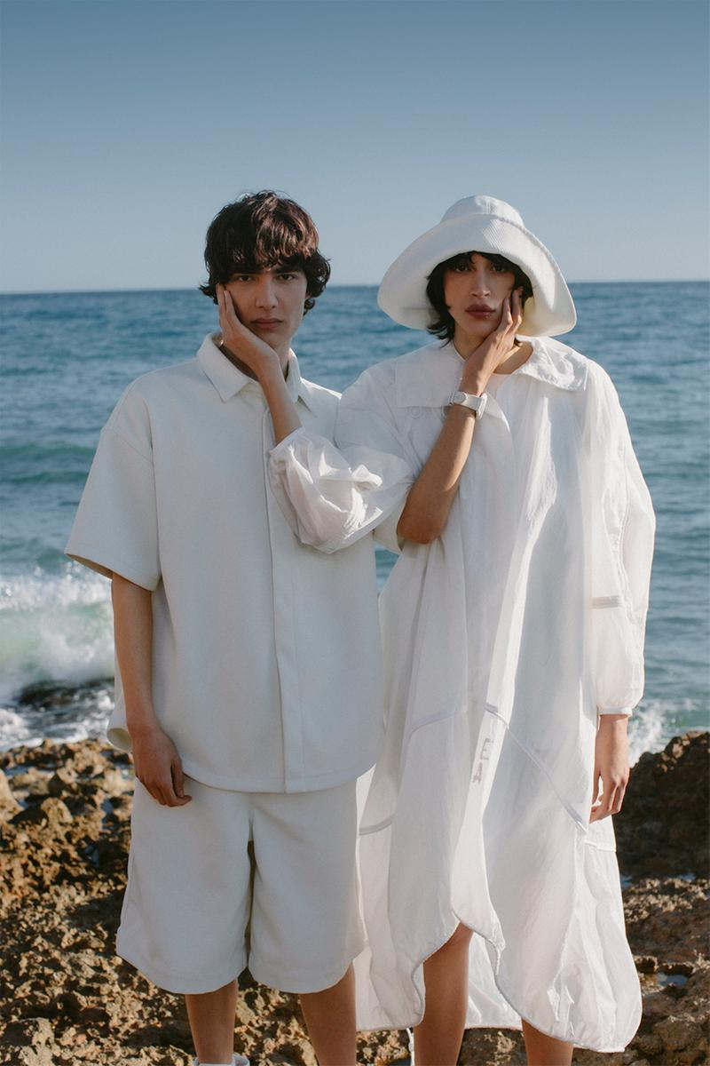 Emporio Armani Underwater R-EA sea beach marine collection fashion streetwear italy sustainable recycled environmental garments
