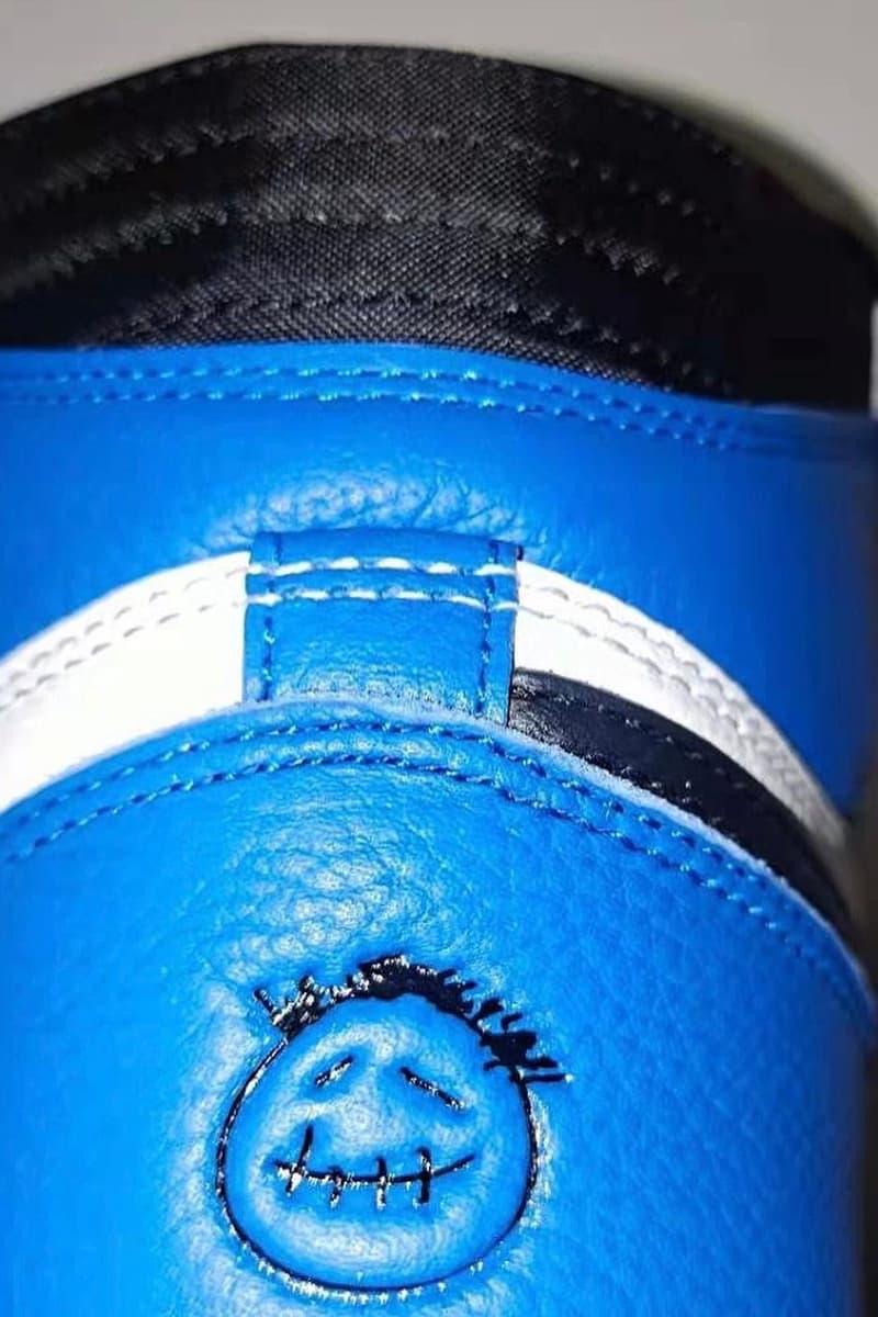 fragment design hiroshi fujiwara travis scott air michael jordan brand 1 white black blue official release date info photos price store list buying guide