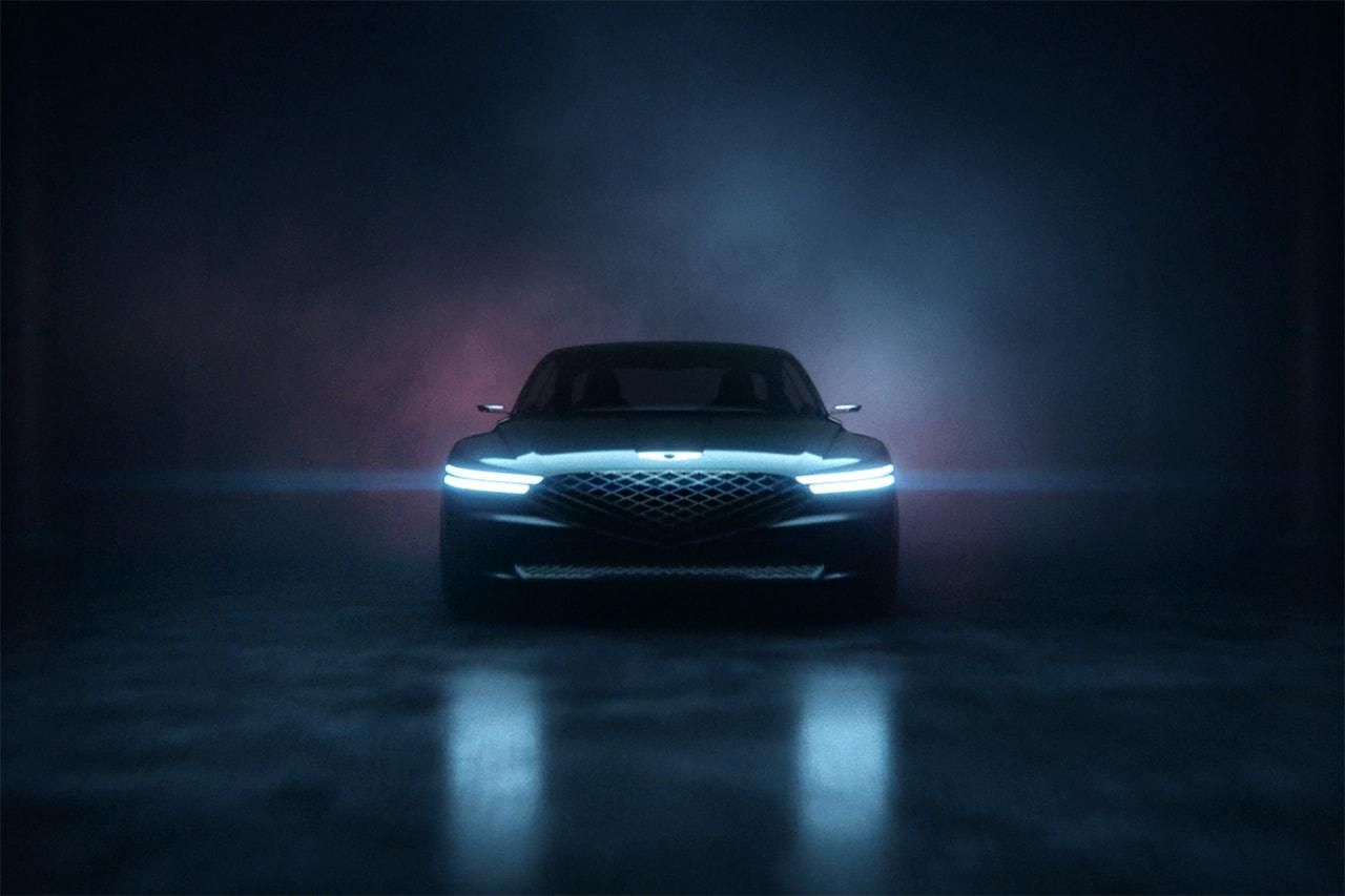Genesis concept car automotive luxury vehicle korean korea design athletic elegance