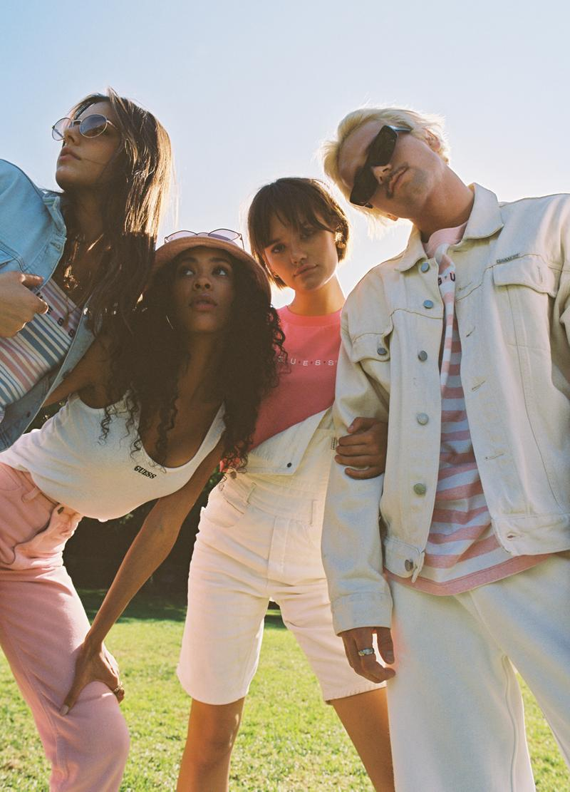 GUESS Originals Spring 2021 Collection Campaign summer ss21 lookbook menswear womenswear buy