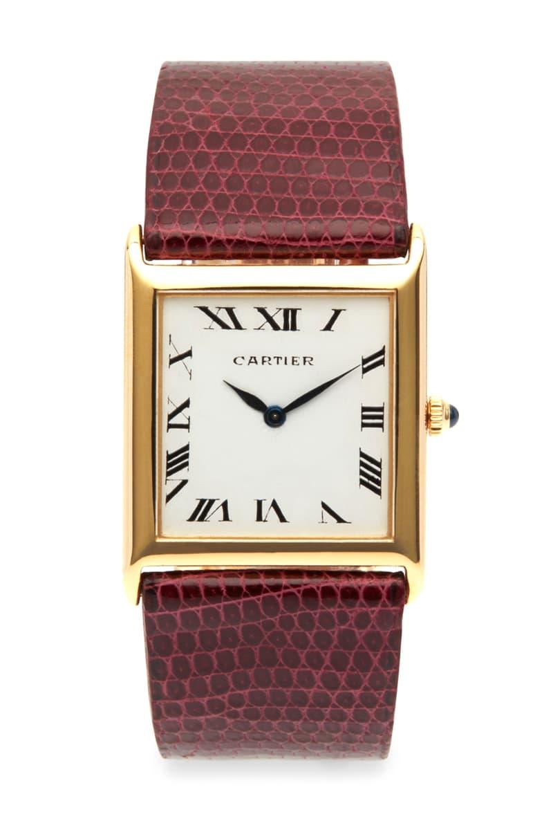 Harry Fane Obsidian Dover Street Market London Vintage Cartier Watches Collectable Timepieces Tank Diamond Automatique Piaget Lady's Baignoire Watch Wristwatch Blue Enamel And Gold Bracelet Classic Expensive DSM DSML