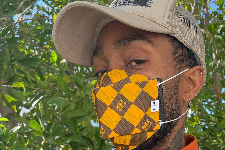 henry mask creates innovative new philanthropic face mask line LeBron James Michael B. Jordan Doja Cat patrick henry