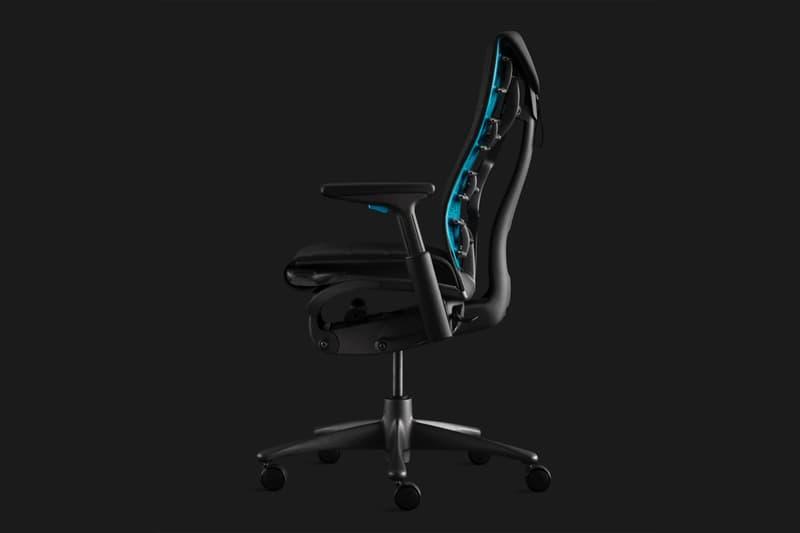 logitech g herman miller gaming chair peripheral accessories embody posture spine seating ergonomics