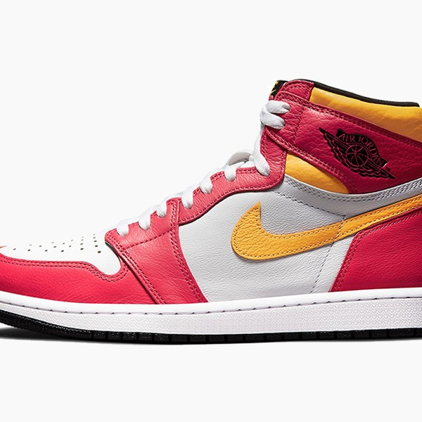 "Air Jordan 1 Retro High OG ""Light Fusion Red"""